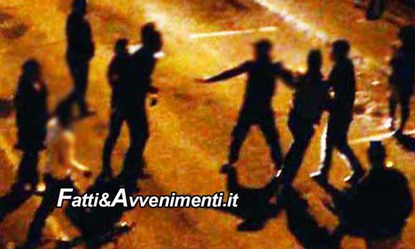 Sciacca. Rissa in piazza Scandaliato: quattro giovani individuati e denunciati dalla polizia