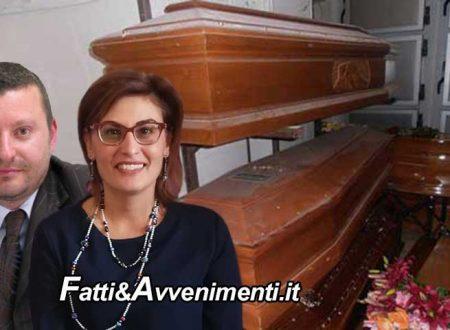 """Sciacca. Santangelo e Caracappa: """"tante bare al cimitero in attesa di  tumulazione, il sindaco provveda subito"""""""
