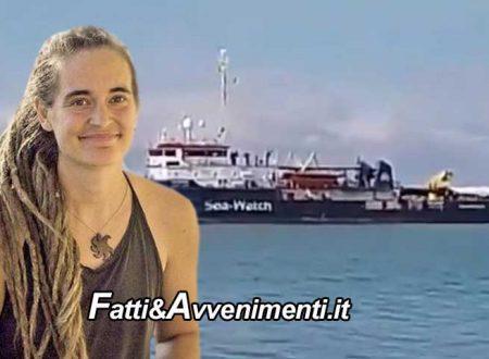 """La Sea Watch 3 di Carola dissequestrata lascia il porto di Licata e l'ong annuncia: """"Ora nuovi soccorsi"""""""