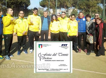 """Agrigento. """"Festa dello Sport"""": domani il Tennis Club Sciacca sarà premiato per la promozione in D1 maschile"""