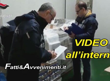 Racalmuto. Carabinieri in azienda conserviera: sequestrate 3 tonnellate di pesce conservato male