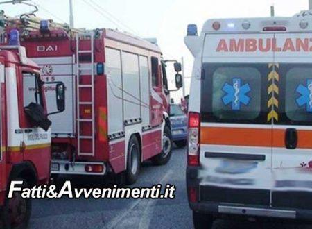 Cefalù (PA). Terrificate scontro sulla A20, Suv si incastra sotto camion: muore il conducente estratto dai pompieri