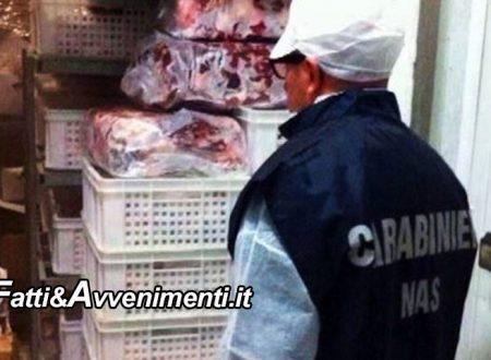 Caltanissetta. NAS sequestrano 8 tonnellate di carne destinata a mense scolastiche: scaduta con data contraffatta