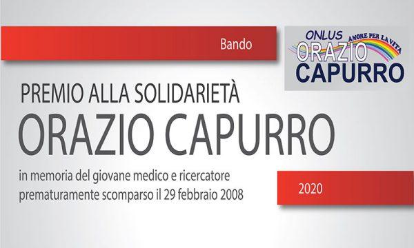 """Sciacca. Premio """"Orazio Capurro"""":  scade il 22 febbraio il bando per segnalare i meritevoli"""