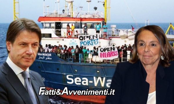 Migranti. Il governo dice si e sbarcano in 200: la Sea Watch 3 di Carola a Taranto e l'Open Arms a Messina