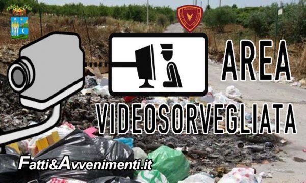 Controlli Polizia Provinciale abbandono rifiuti: telecamere installate in più punti: ecco dove e quando