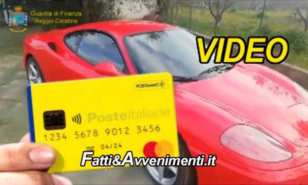 Locri (RC). Scoperti 237 percettori reddito cittadinanza con con ville e Ferrari o erano in carcere: tutti denunciati