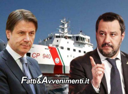 """Caso Gregoretti. Salvini  presenta memoria difensiva e  attacca il premier Conte: """"anche lui era al corrente"""""""