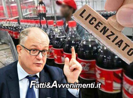 Catania. Tassa plastica e zucchero: la Coca-Cola delocalizza in Albania e annuncia 151 licenziamenti nell'impianto etneo