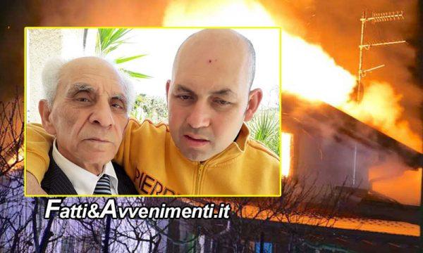 Mazara del Vallo (TP). Villetta va a fuoco, muoiono padre e figlio, inutile l'intervento dei vigili del fuoco