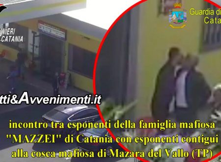 Mafia, 28 arresti: asse tra clan Mazzei e cosche trapanesi incastrati dalle telecamere – VIDEO