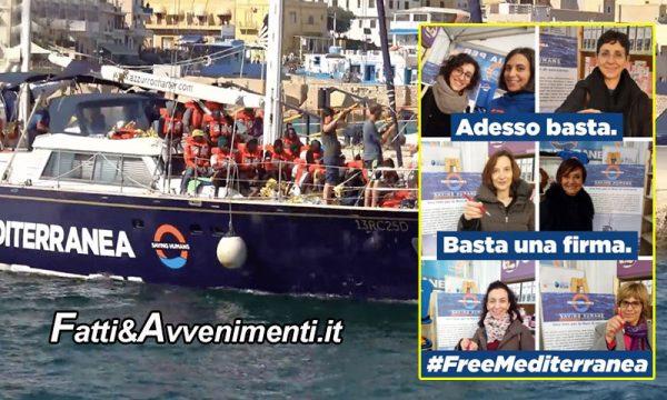 """La nave """"Alex"""" resta sequestrata: TAR  respinge ricorso e l'ong lancia raccolta firme per intervento politico"""