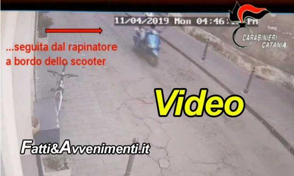 Paternò (CT). Rapina violenta ad anziano dopo prelievo denaro alla posta: 39enne incastrato dalle telecamere
