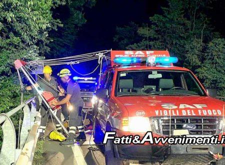 Torretta (PA). Volano giù dalla moto e finiscono nel dirupo: 2 giovani in gravi condizioni