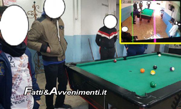 """Catania. Alcol e gioco d'azzardo, """"sala giochi"""" abusiva gestita da un 14enne: denunciato il padre"""