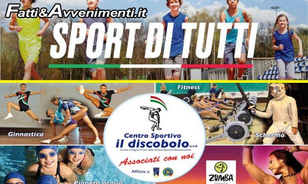 Sciacca. Sport per tutti, anche per i meno abbienti: alla Discoblo iscrizioni gratuite su base ISEE