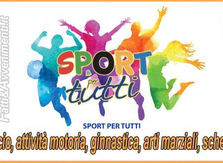 Sciacca.  Attività sportiva gratuita per ragazzi  tra i 5 ed i 18 anni di famiglie disagiate: domande entro il 31 gennaio
