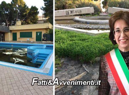 """Sciacca. Parco Terme gestione Valenti """"nel degrado"""": punta dell'iceberg di incapacità e incompetenza – FOTO"""