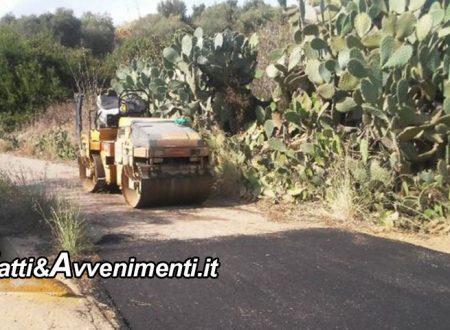 Ribera. Viabilita' rurale c/da catellana: Comune ottiene finanziamento di  533 mila euro, a breve i lavori