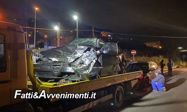Misilmeri. Scontro tra 4 auto sulla Palermo-Agrigento: perde la vita un uomo e quattro i feriti