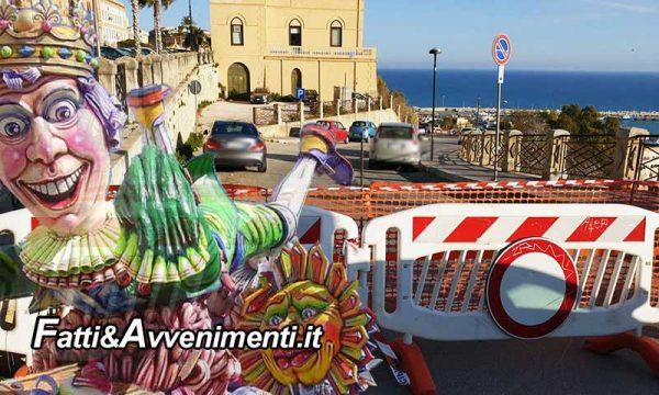 Sciacca, Carnevale. Comune 3800 euro per tentare apertura via E. d'Aragona: perché solo ora?