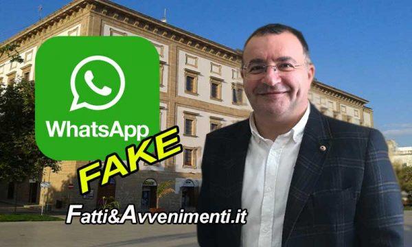 """Sciacca. Vocale Fake su WhatsApp: """"Scuole chiuse per Coronavirus"""", Ass. Bacchi: """"Falso, denunciati"""""""