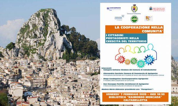 """Caltabellotta. Venerdì 7 Convegno- incontro con i cittadini per """"La cooperazione nella comunità"""""""