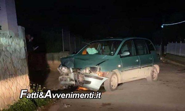 Canicattì. 35Enne si schianta con l'auto contro un muretto: perde la vita durante un'intervento chirurgico