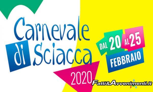 Sciacca Carnevale 2020. E' Ufficiale, ticket per tutti: residenti 2 euro a serata, forestieri 4
