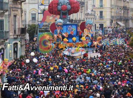"""Carnevale di Acireale, è boom: 8mila i visitatori """"NON RESIDENTI"""" paganti solo nelle prime due giornate"""
