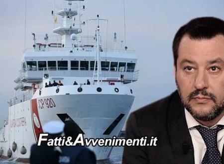 """Gregoretti, il 12 il Senato vota. Salvini si difende: """"I servizi segreti tedeschi avvertirono di 3 presunti terroristi a bordo"""""""