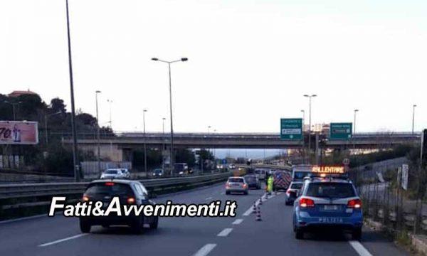Incidente sulla Palermo Mazara del Vallo: auto si schianta contro il guard rail: muore un 62enne