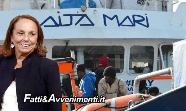 Migranti. Lamorgese assegna il porto di Messina alla Ong spagnola Aita Mari che oggi ha sbarcato 158 persone