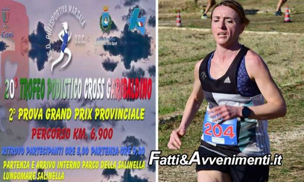 Marsala. 2° posto per la saccense Luana Russo al 20° Trofeo Podistico Garibaldino, 2^Prova G.P. Cross Master