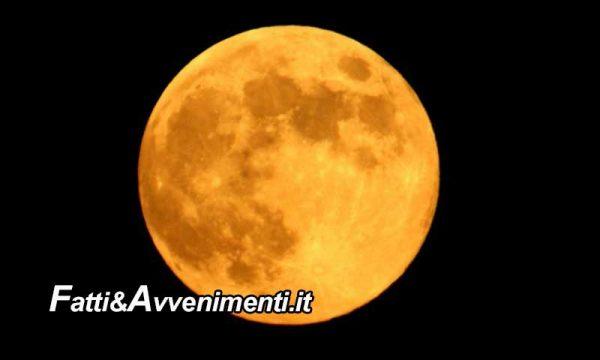 Stasera spettacolare e luminosa  Superluna, più vicina alla Terra e protagonista del cielo di Aprile