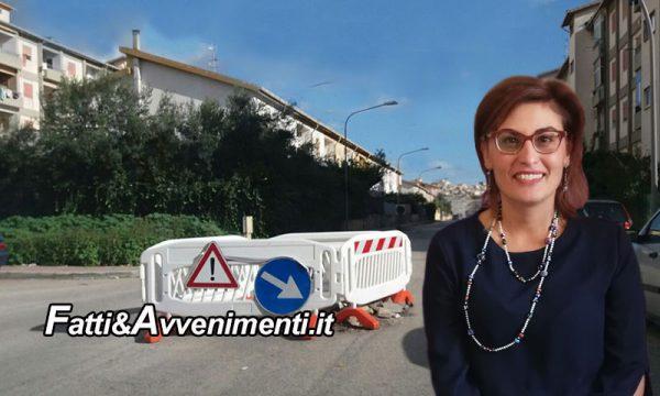"""Sciacca. Strade Perriera, Santangelo: """"Transenne e buche 'eterne', inutili le mie segnalazioni, sindaco assente"""""""