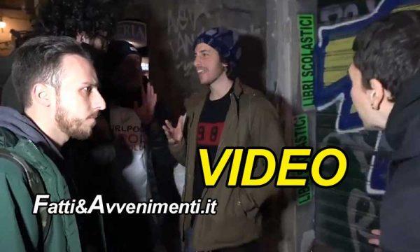 """Napoli contesta le Sardine, Salvini: """"Se ti fai le foto con Benetton e Toscani, questi sono i risultati"""""""