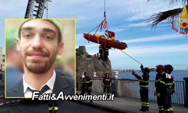 Siracusa. 27Enne trovato morto su una scogliera: era stato visto fare jogging. Sul giallo indaga la procura