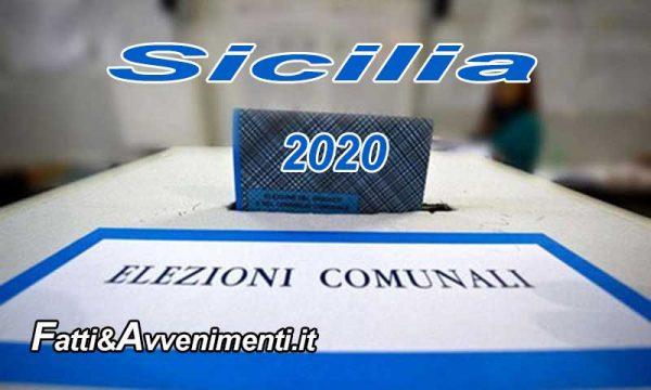 Sicilia, Coronavirus. Elezioni amministrative rinviate all'autunno, tra ottobre e dicembre