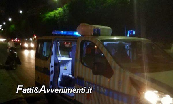Palermo. Auto travolge 57enne che muore in ospedale, il conducente prima fugge poi si costituisce