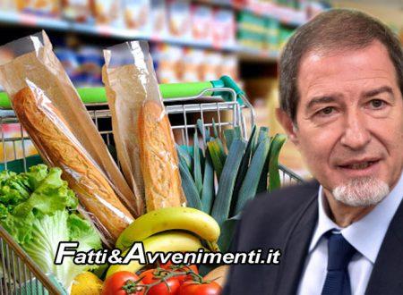 """Sicilia. Musumeci: """"100 milioni di euro per aiutare famiglie che non possono fare la spesa"""""""