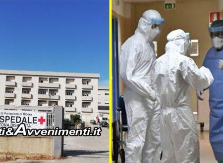 Ribera, Coronavirus. Quinto caso positivo: E' un ex paziente dell'Ospedale di Sciacca