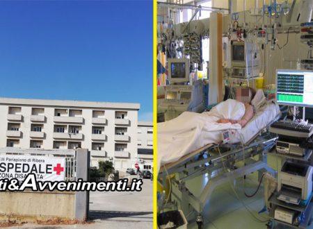 """Ribera: """"Creare reparto terapia intensiva all'Ospedale Fratelli Parlapiano"""", avviata raccolta firme"""