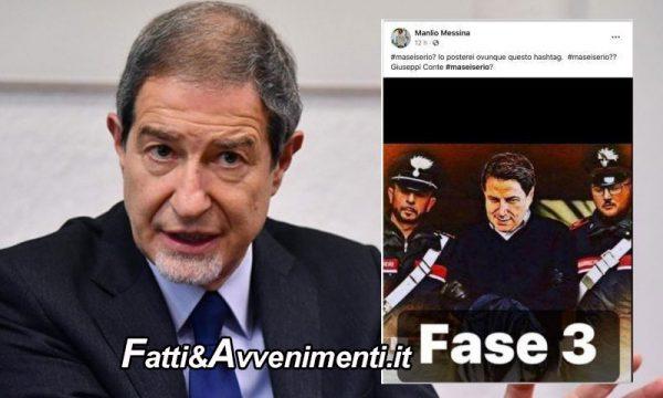 """Fase 2 Covid. Musumeci deluso da Conte, assolve Messina: """"E' satira"""", """"Riaprire Sicilia dopo maggio"""""""
