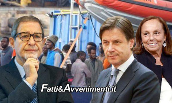 """Migranti. La rivolta dei siciliani, Musumeci e sindaci a Conte: """"Basta con gli sbarchi questo è cinismo europeo"""""""