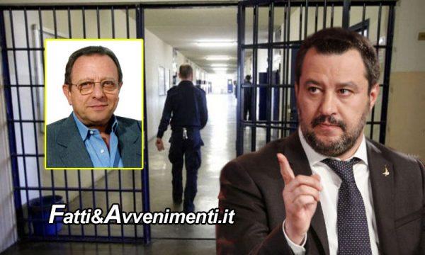 """Boss mafiosi lasciano il 41 bis, Salvini: """"Con la scusa del Virus il governo sta facendo uscire i mafiosi di galera"""""""