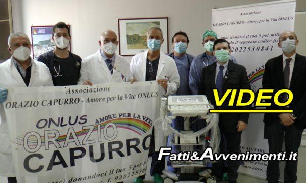 Sciacca. Ass. Capurro dona ecografo portatile all'U.O.C. di Anestesia e Rianimazione dell'Ospedale