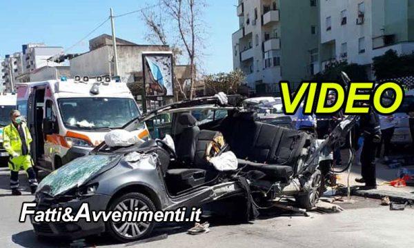 Palermo. Terrificante impatto dopo un sorpasso: una Golf si schianta su un bus: muore un 49enne