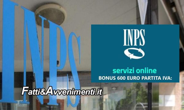 Inps. Caos Bonus 600 euro, sito va in tilt: oggi al via le domande presentabili per tutto il periodo della crisi