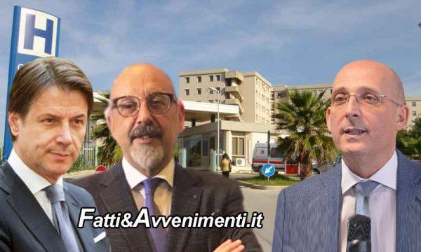 """Sciacca, Ospedale. Franco Valenti contro Asp: """"Anche Presidente Conte contro Ospedali Misti Covid"""""""